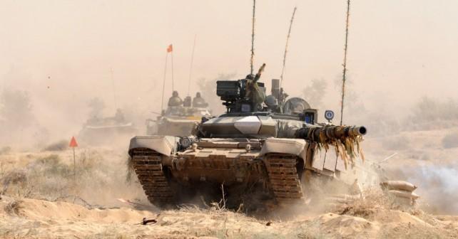 Indijski tank T-90S