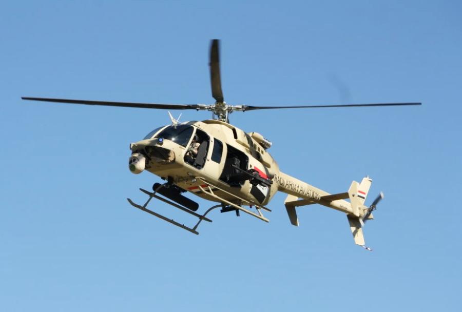 Iraški helikopter Bell IA 407.
