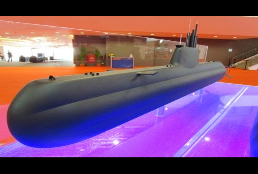 Model podmornice type 218SG.
