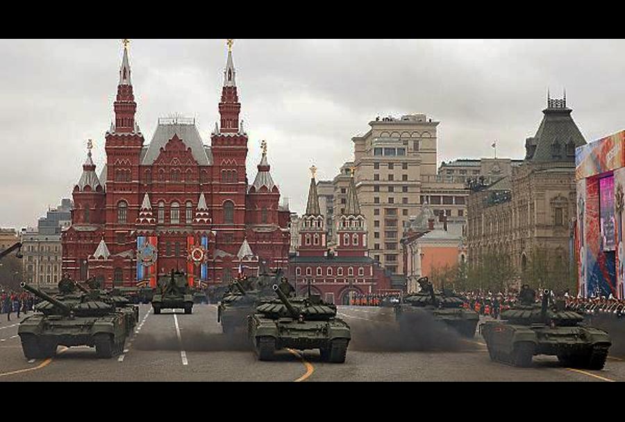 Dan zmage - vojaška parada v Moskvi (9. maj 2017).