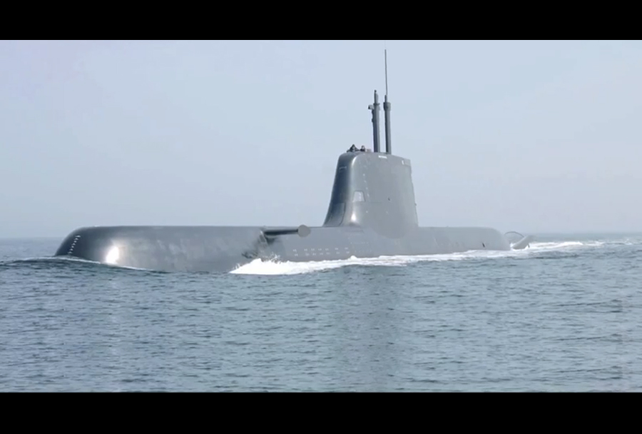 Podmornica type 212.