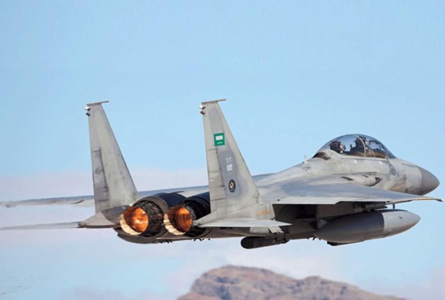 Saudski F-18.