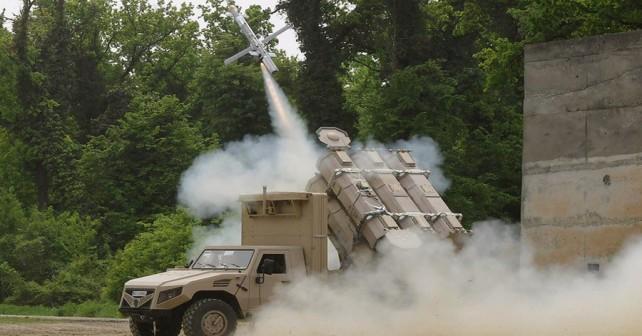 Srbski raketni sistem EDePro ALAS-C.