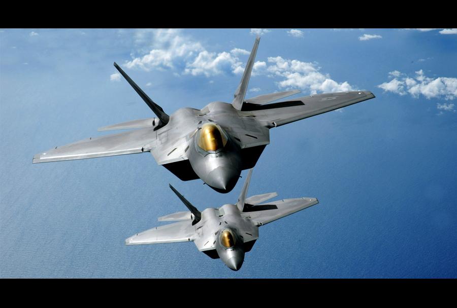 Lovca F-22 raptor