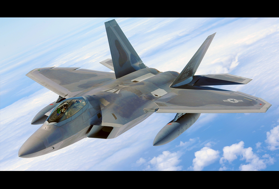 Lovec F-22 raptor