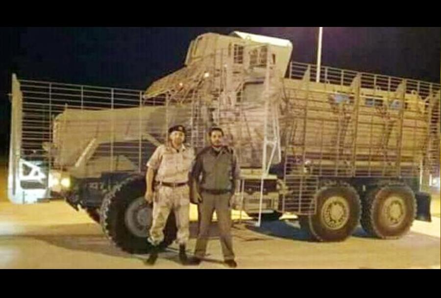 Oklepniki M1248-caiman za Libijo