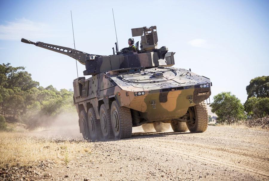 Oklepnik Rheinmetall boxer CRV - testiranja v Avstraliji