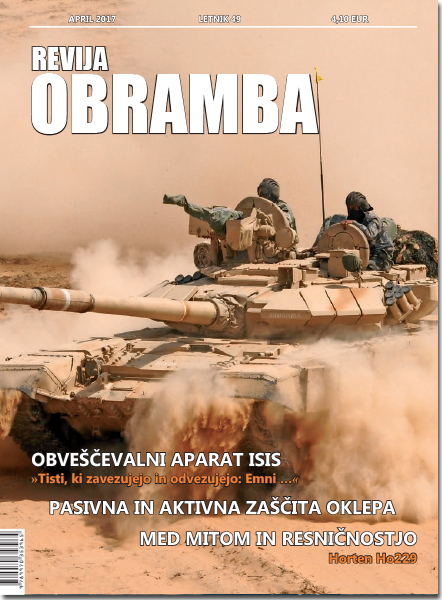 Revija Obramba, april 2017