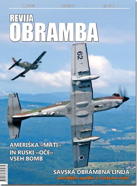 Revija Obramba, maj 2017