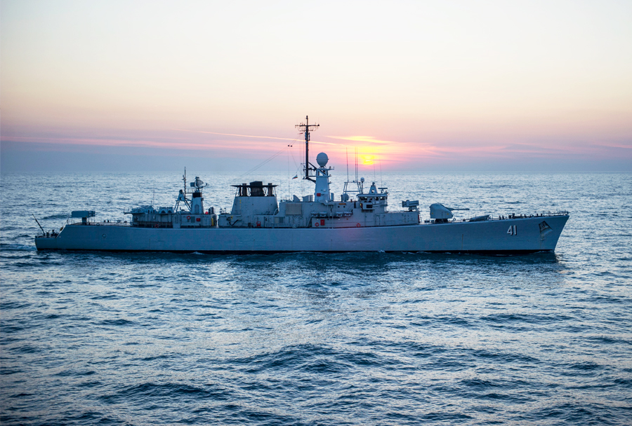 Bolgarska  fregata Drazki razreda wellington