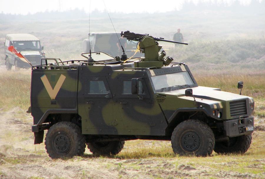 Dansko oklepno vozilo eagle IV 4x4
