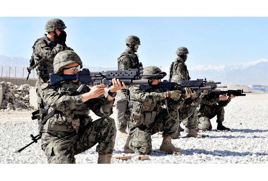 Južnokorejski vojaki