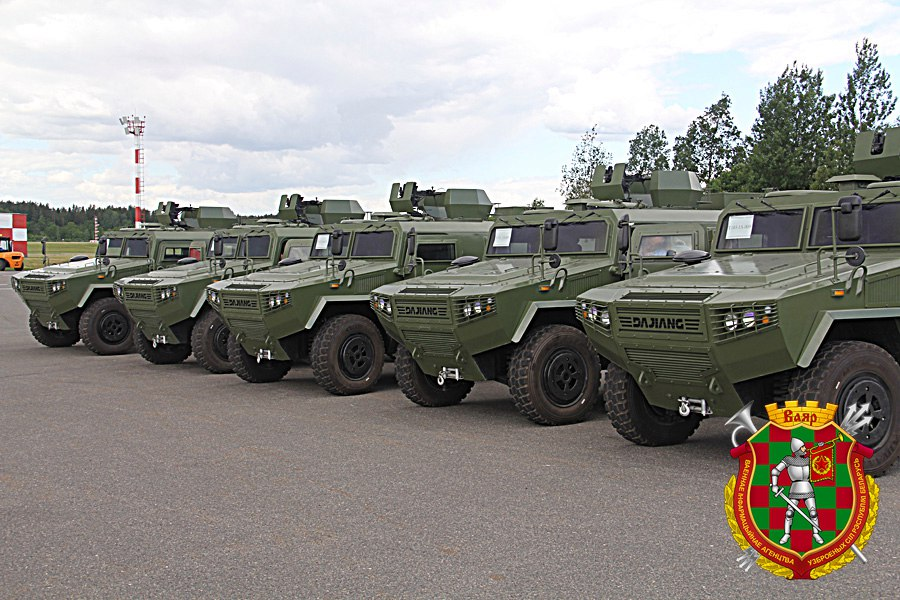 Kitajska oklepna vozila  CS/VN3 za Belorusko vojsko
