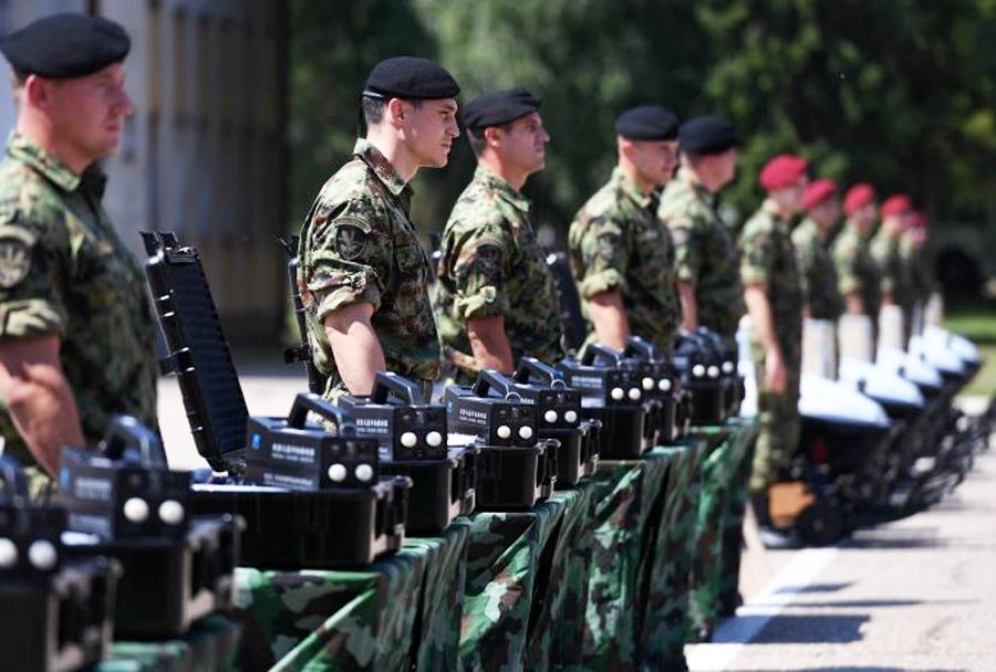 Kitajski detektorji za Vojsko Srbije