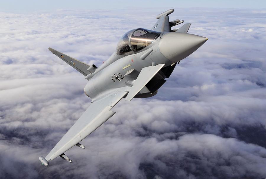 Nemški lovec Eurofighter typhoon
