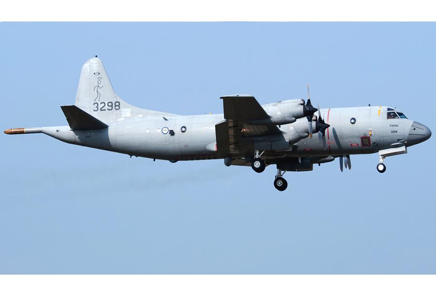 Norveško mornariško patruljno letalo P-3 orion