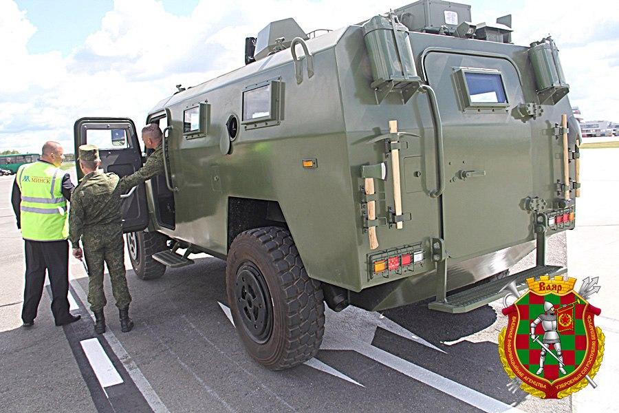 Kitajsko oklepno vozilo CS/VN3 za Belorusko vojsko