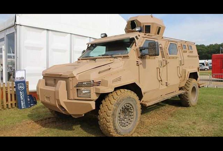 Oklepno vozilo pehote spartan 4x4