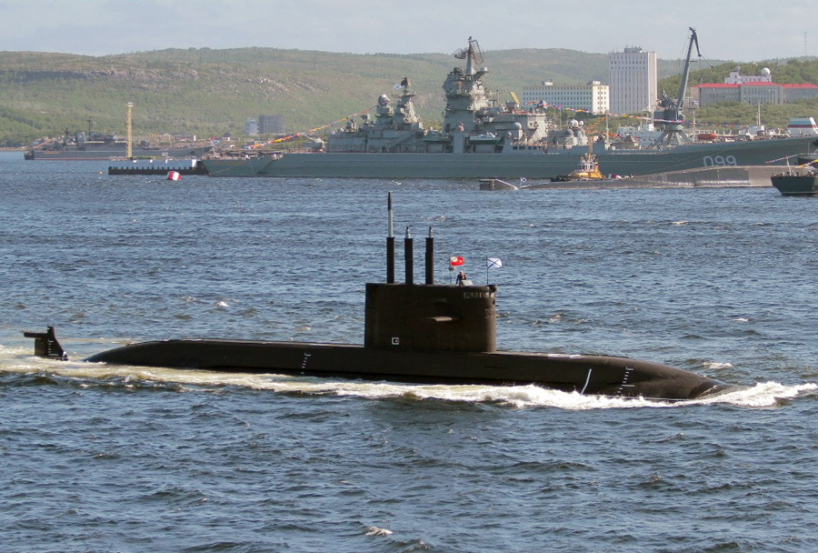 Ruska podmornica razreda lada