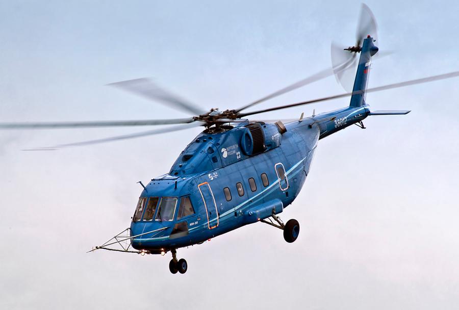 Ruski prototipni helikopter Mi-38