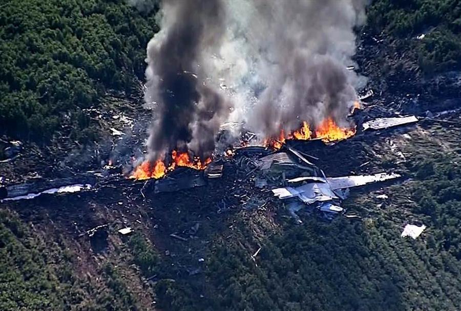 Nesreča leteče cisterne KC-130 hercules v Misisipiju
