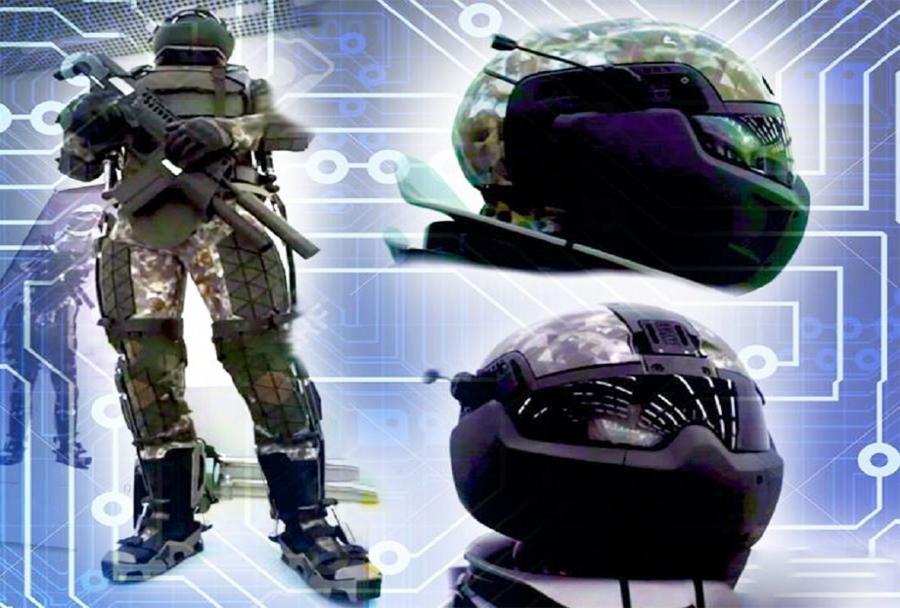 Ratnik-3 - eksoskeletna struktura, okrepljena z neprebojno balistično zaščito
