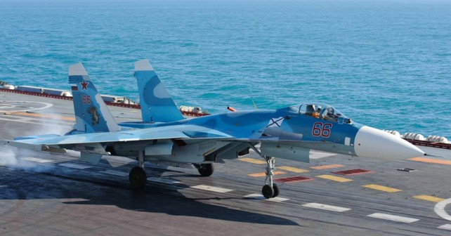Ruski palubni lovec Su-33