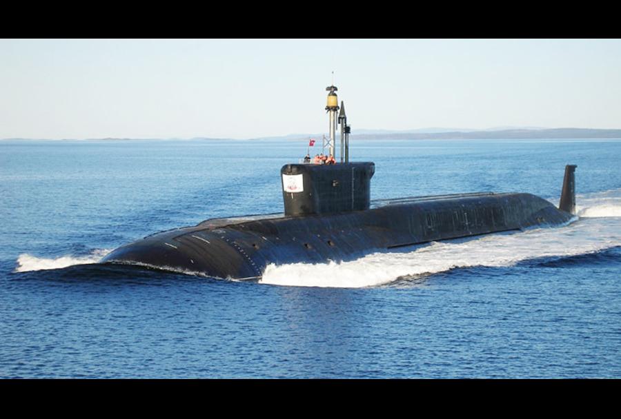 Ruska jedrska podmornica razreda borei