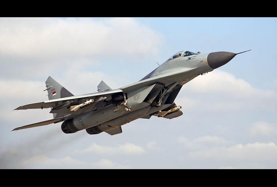 Srbski lovec MiG-29