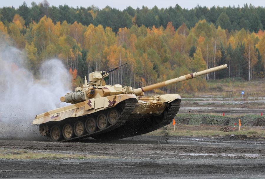 Tank T-90S