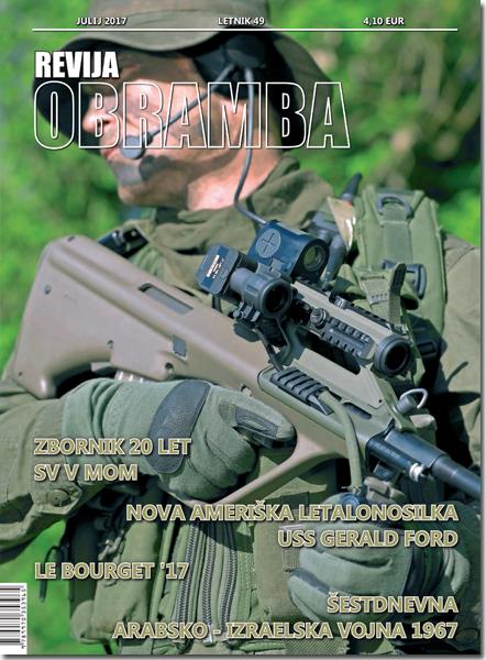 Revija Obramba, julij 2017