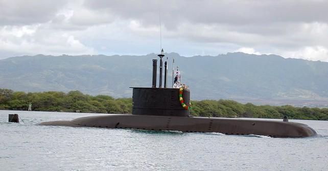 Južnokorejska podmornica