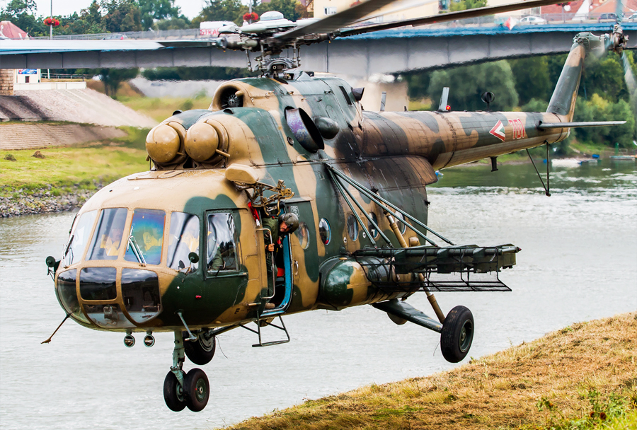 Madžarski helikopter Mi-17