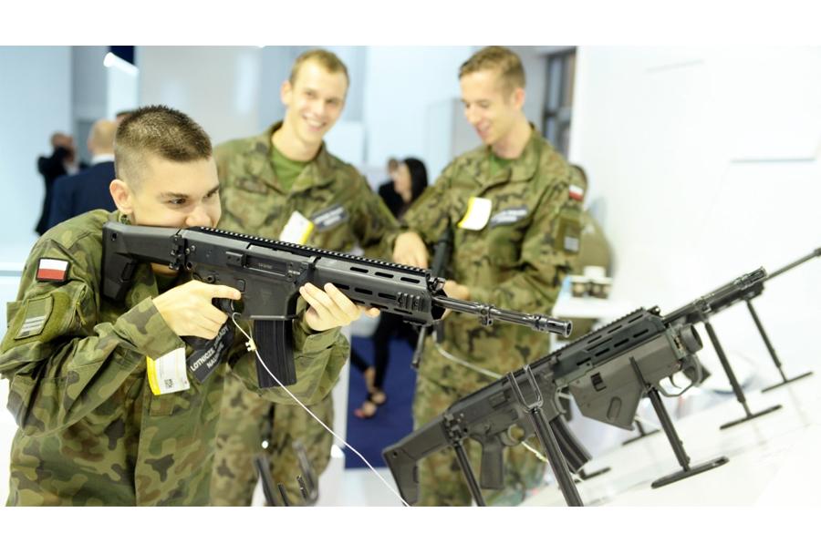 Poljska jurišna puška grot MSBS