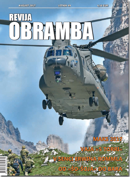Revija Obramba, avgust 2017