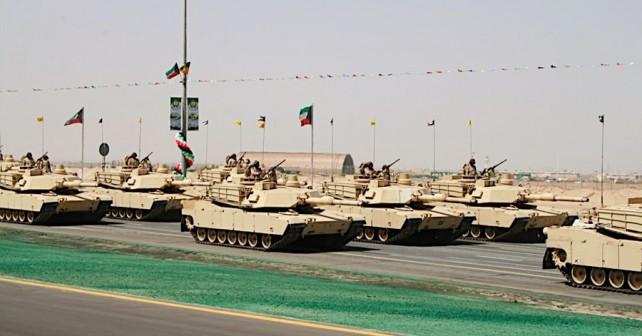Kuvajtski tanki M1A2 abrams