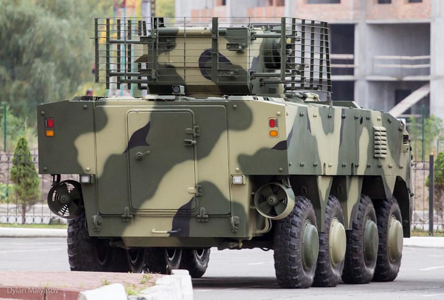 Ukrajinsko oklepno vozilo pehote BTR4MV1
