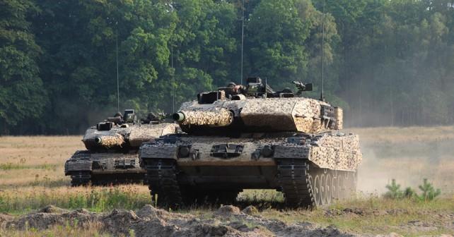 Tank leopard 2A7V