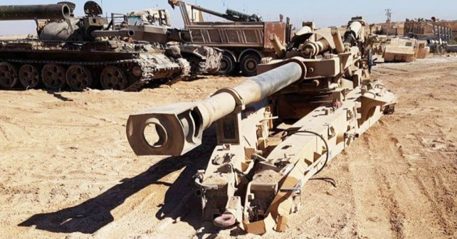 Zaseženo orožje ISIS-a