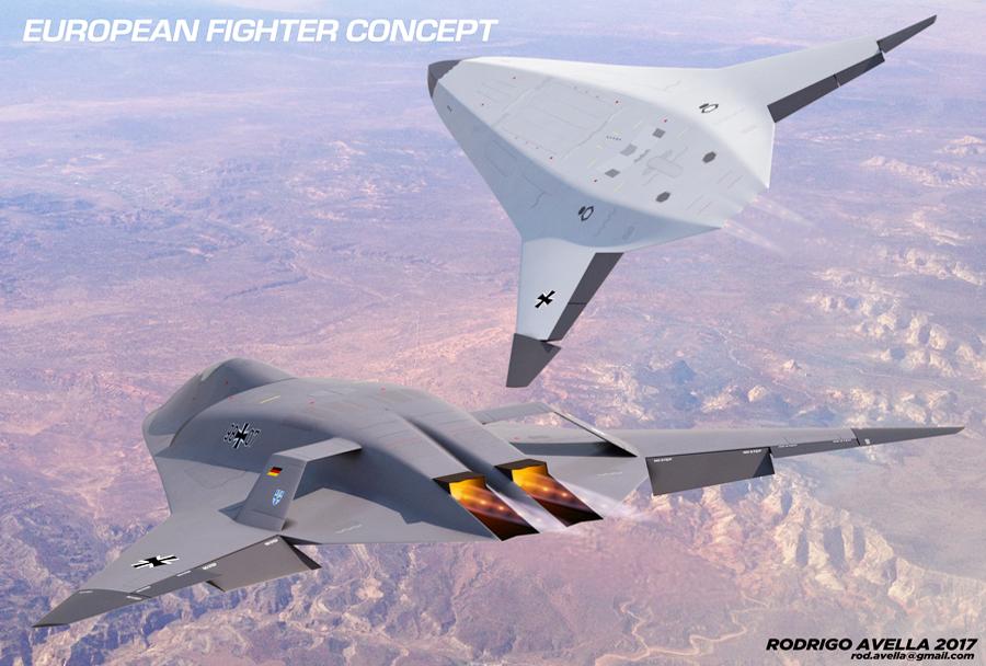 Evropski lovec prihodnosti - koncept