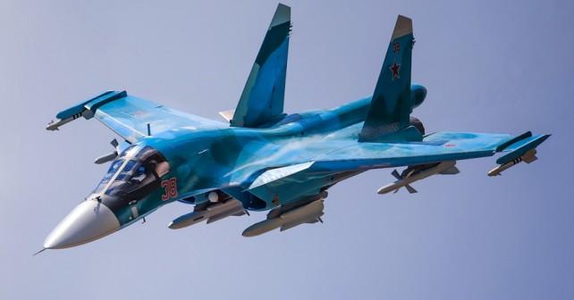 Ruski lovski bombnik Su-34 fullback