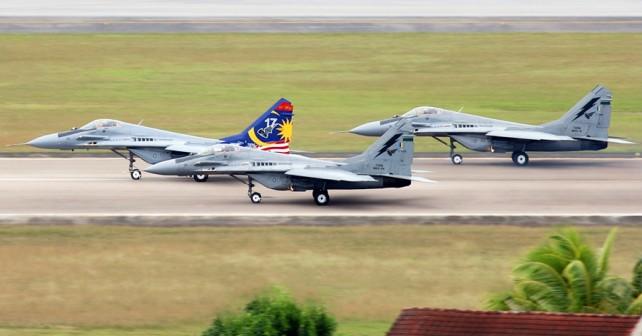 Malezijski lovci MiG-29