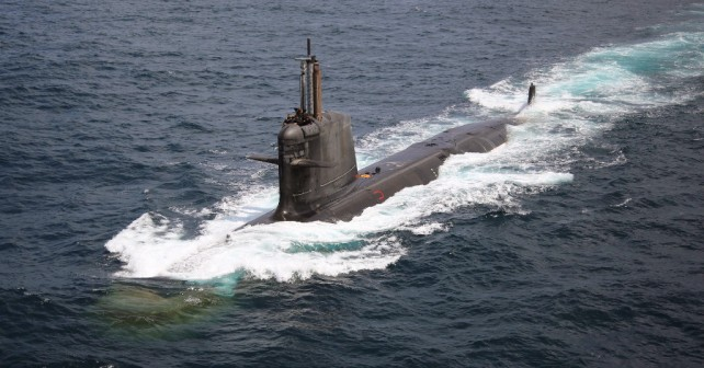 Dizelsko-električna podmornica razreda scorpene