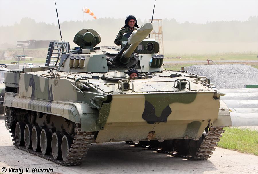 Rusko oklepno vozilo BMP-3