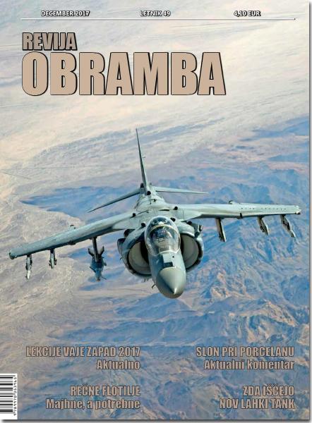 Revija Obramba, december 2017