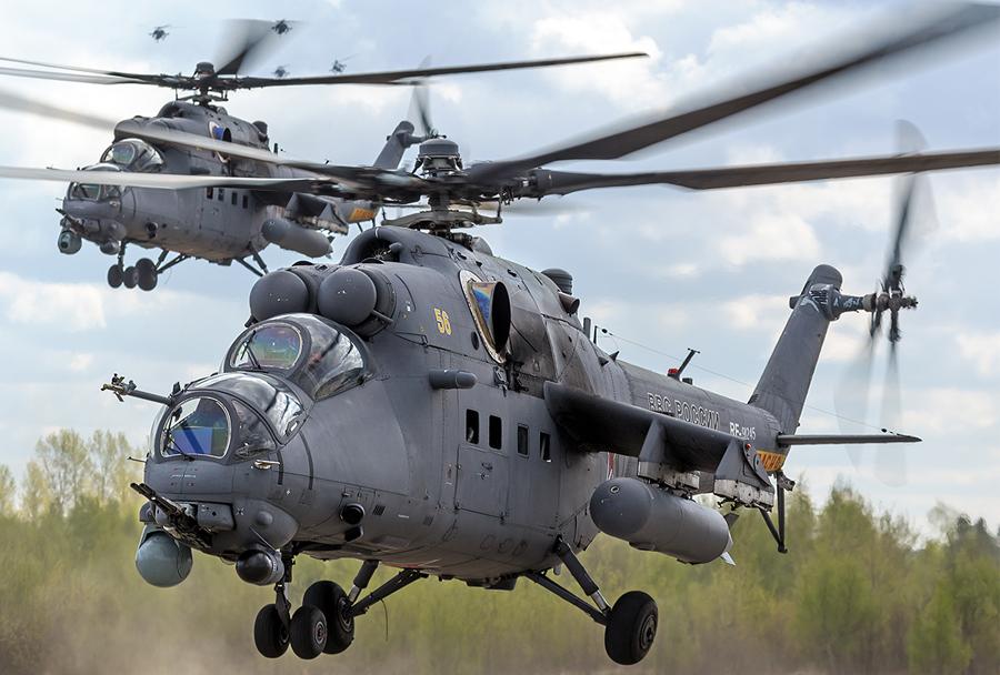 Helikopter Mi-35