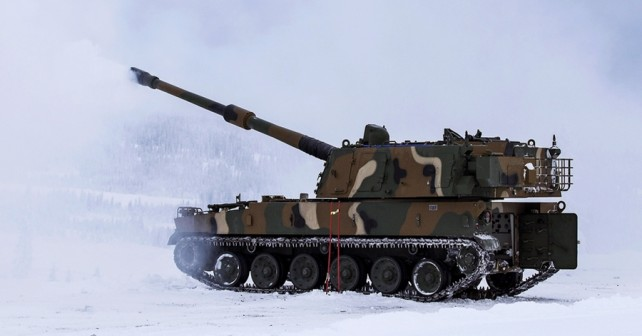 Samovozna havbica K9 thunder 155 mm