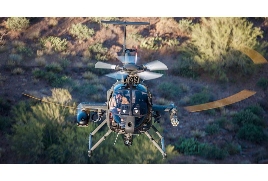Lahki bojni helikopter MD 530G