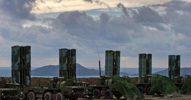 Raketni sistemi S-400 na Krimskem polotoku