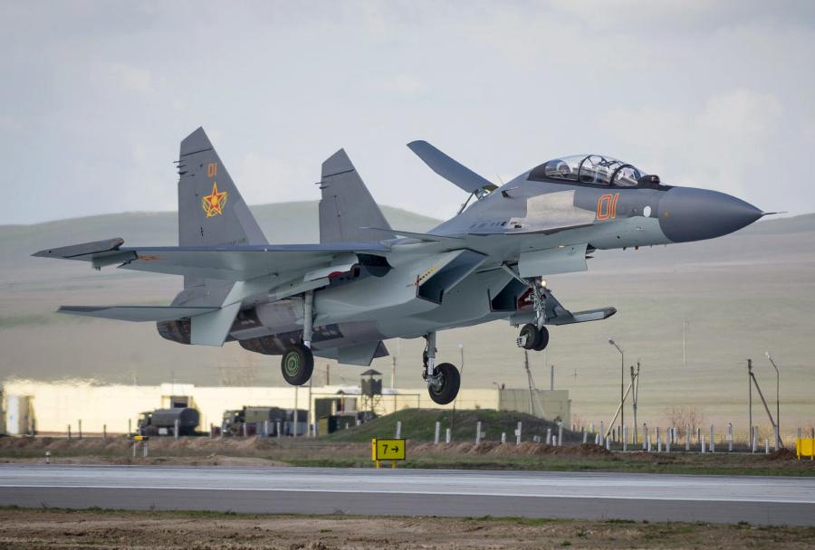 Kazahstanski lovec Su-30